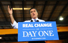 With 4 days until the election, Romney offers sweeping promises
