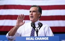 Mitt Romney campaigns till the end