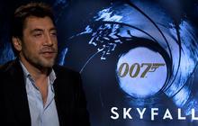 """Skyfall"" star Javier Bardem on playing Bond villain"