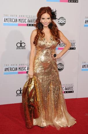 AMAs 2012: Red carpet