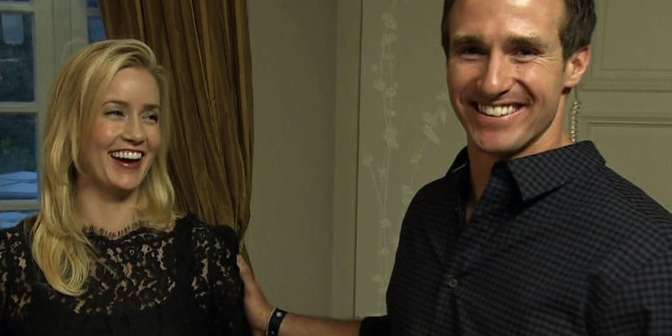 Drew Brees Family Drew Brees Love at First