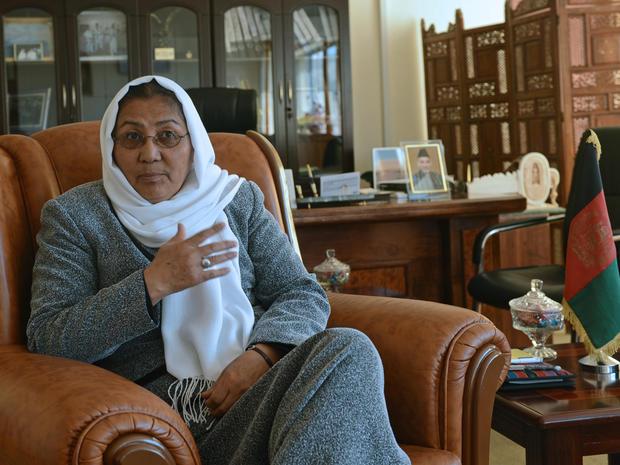 Bamiyan provincial governor Habiba Sarabi