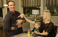 """Person to Person"": Meet  the Brees boys"