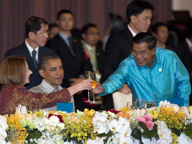 President Obama's Asia tour
