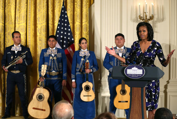 Michelle Obama honors community youth programs