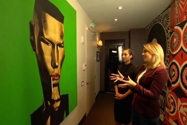 Inside Alicia Keys' private recording studio