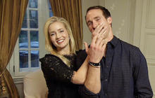 "Drew Brees ""driven"" to impress Brittany"