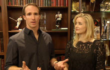 Drew and Brittany Brees on giving back