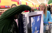 Black Friday shoppers hit the stores early