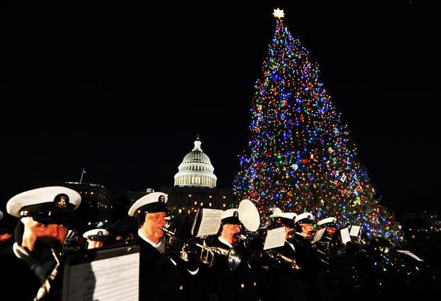 U.S. Capitol Christmas Tree lighting ceremony