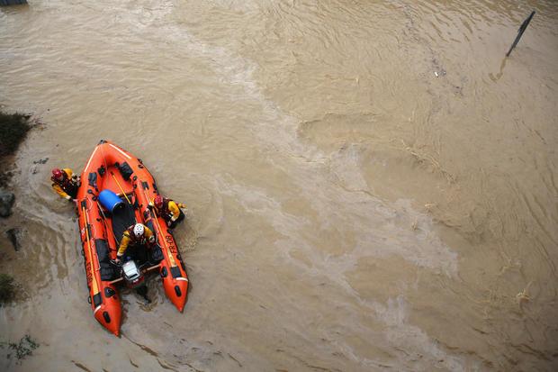 Floodwaters threaten United Kingdom