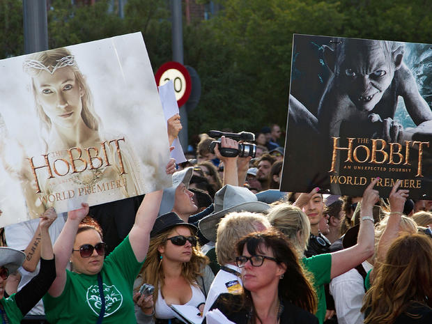 """The Hobbit"" premieres in New Zealand"