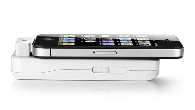How to turn your iphone into a projector cbs news for Best portable projector for iphone 6