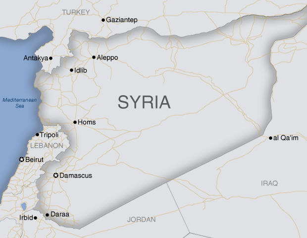 Syria Map Middle East
