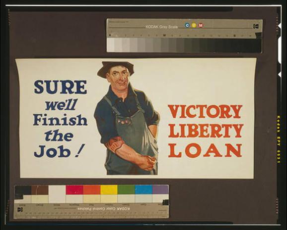 Vintage World War I posters