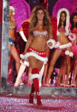 "Victoria's Secret ""Fantasy Bra"" through the years"