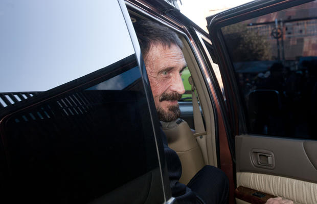 Anti-virus guru John McAfee released