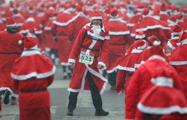 The Great Santa Run