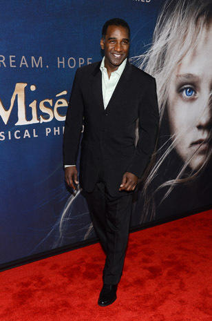 """Les Miserables"" premieres in New York"