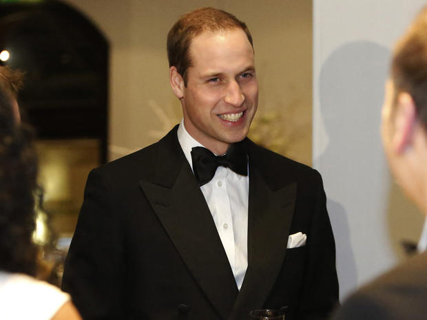 Prince William at Winter Whites Gala