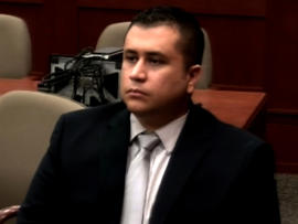 George Zimmerman watches during his hearing at the Seminole County Courthouse in Sanford, Fla., Dec. 11, 2012.