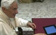 Pope sends first tweet