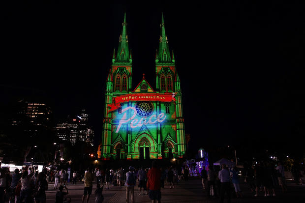 Sydney lights up for Christmas