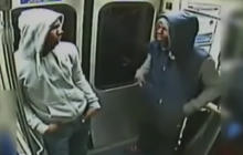 Caught on tape: Philly subway shooting