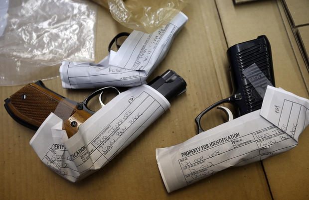 Anonymous gun buy back program