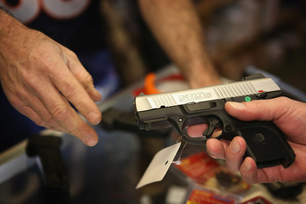U.S. gun shops report spike in sales