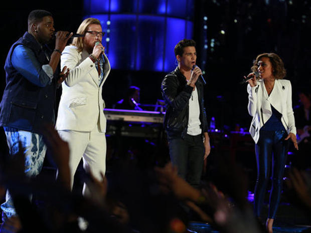"""The Voice"" season three finale"