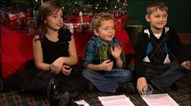 Aiden, Audrey and Kaleb wrote to and received letters from Santa Claus