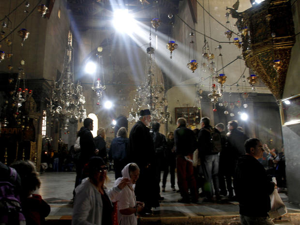 Christmas celebrated in Bethlehem