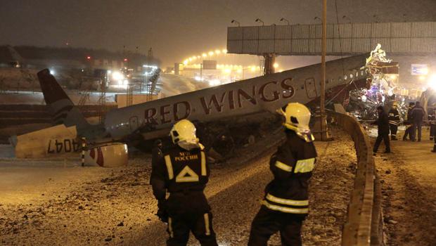 Plane crash in Moscow kills 4