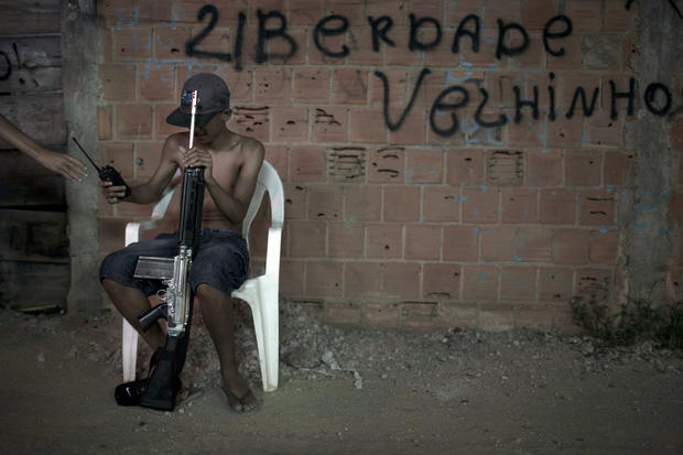 Crack epidemic in Brazil