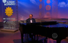 Charles Osgood sings for his 80th birthday