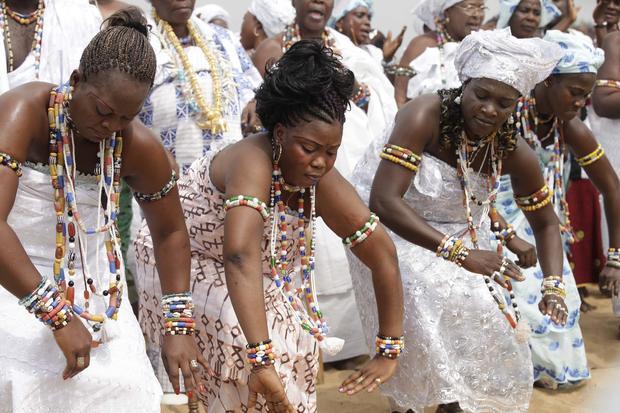 Voodoo festival in West Africa