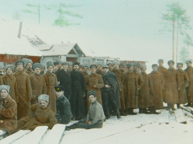 Rare color photos of World War I