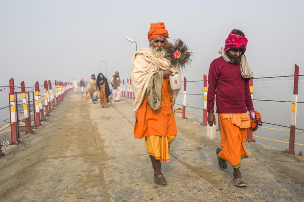 Millions travel for Hindu festival