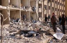 Explosions devastate Syrian university in Aleppo