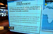 Headlines: Report says kids can grow out of autism