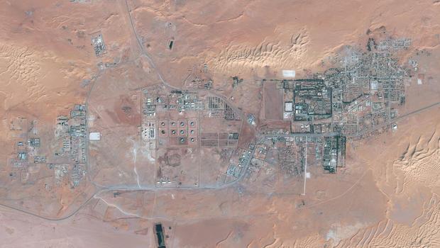 Amenas gas facility, algeria