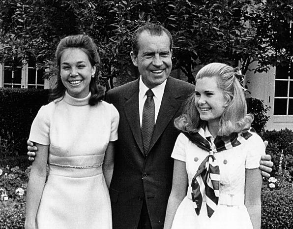 Daughters growing up in the White House