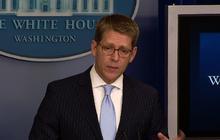 Carney discusses legislative strategy on guns