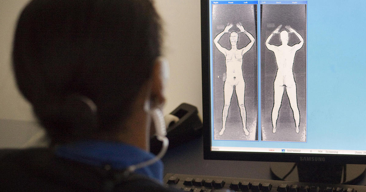 "Say goodbye to ""naked image"" body scanners - CBS News"