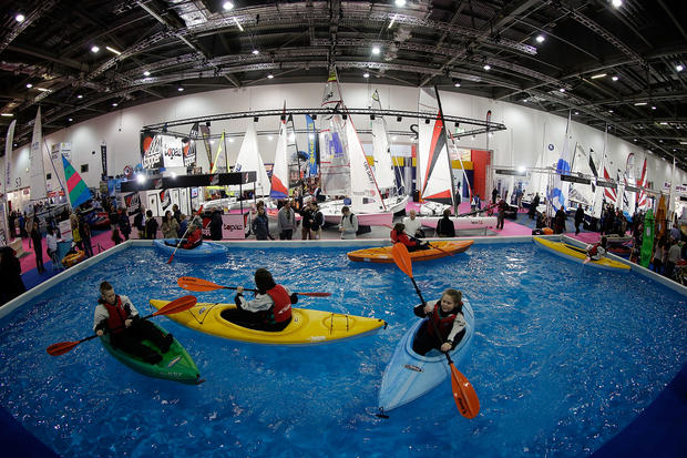 The 2013 London boat show