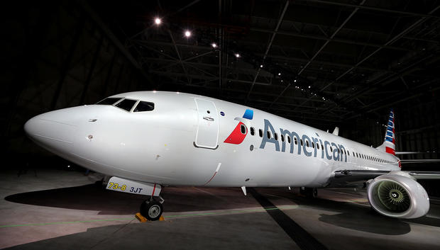 American Airlines unveils new look