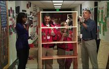 Obamas participate in National Day of Service