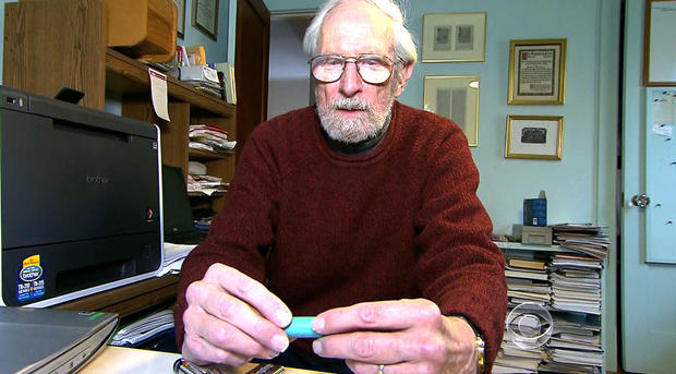 George Blomgren在Eveready电池公司工作了40年。
