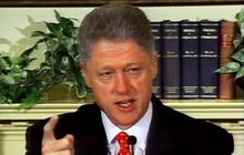 From the archives: President Clinton denies Lewinsky affair